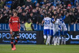 Real Mallorca verliert bei Zweitligist Saragossa 1:3