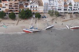 Port de Pollença von oben.
