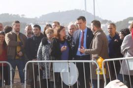 Premier Sánchez begutachtet Sturmschäden auf Mallorca