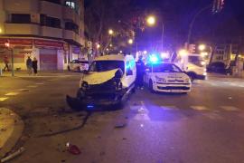 Betrunkener Autofahrer fährt in Palma Fußgänger an