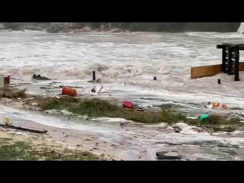 "Video zeigt ""Mini-Tsunami"" an der Cala Llombards"