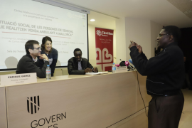 Senegalesen auf Mallorca sind meist Straßenverkäufer