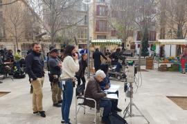 Dreharbeiten für BBC-Serie in Palmas Zentrum
