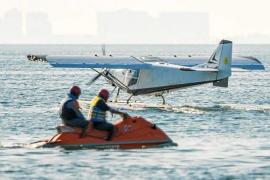Wasserflugzeuge in der Bucht von Pollença