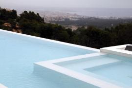 Dieser Blick hat seinen Preis: Vom Anwesen in Son Vida aus hat man eine außergewöhnliche Sicht auf Palma und das Meer.