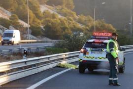 Fußgänger auf der Autobahn Palma-Andratx tödlich verunglückt