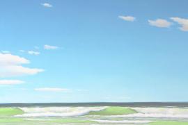 Werke von Michael Weigel in der Galería de Arte Minkner