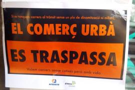 Tausend Einzelhändler in Palma beteiligten sich an Protestaktion