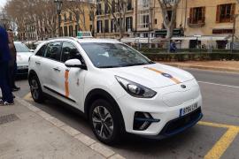 Jetzt auch elektrische Taxis in Palma