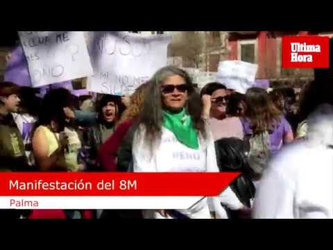 10.000 Menschen kamen zum Weltfrauentag nach Palma
