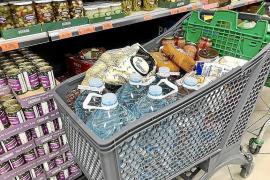 Hamsterkäufe in Mallorca-Supermärkten nehmen zu