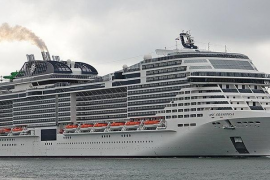 Weiteres Italiener-Schiff legt im Hafen von Palma an