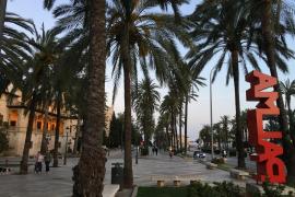 Palma de Mallorca - fast wie leergefegt