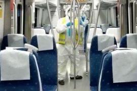 Züge und TIB-Busse werden verstärkt desinfiziert