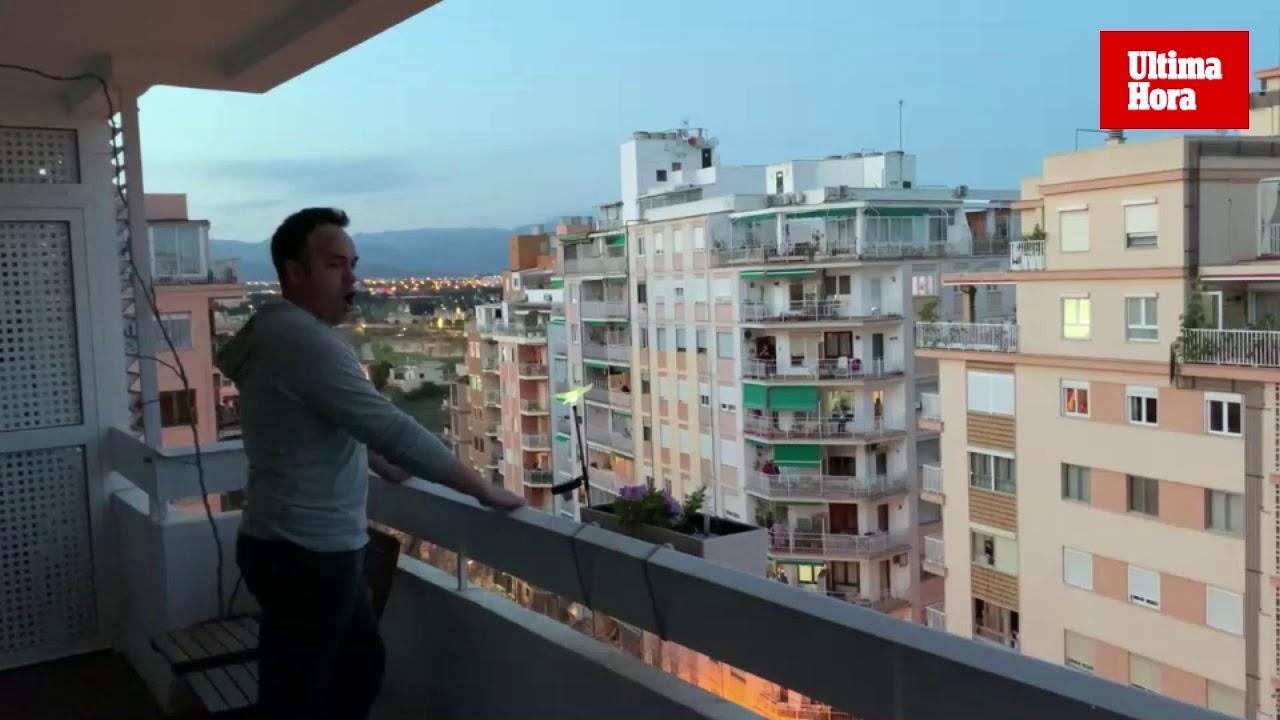 Mallorca-Tenor singt für Coronavirus-Personal
