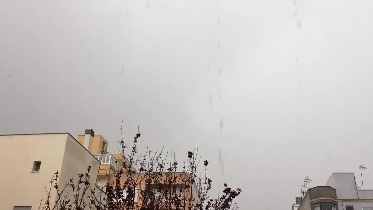 Schlechtwetterfront mit viel Regen erreicht Mallorca
