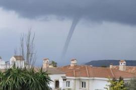 Große Windhosen vor Mallorca gesichtet