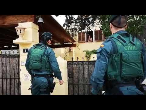 Guardia Civil besucht verstärkt Residenten-Fincas