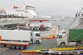 Weniger Fähren, aber Versorgung sei gesichert