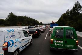 Erster Stau seit Wochen auf Palmas Ringautobahn