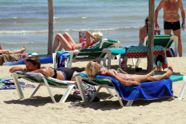 Bilder wie diese wird man auf Mallorca wieder sehen. Die Frage ist nur wann.