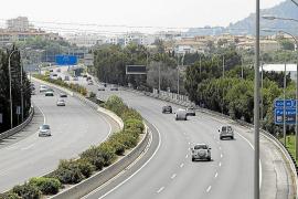 Mallorcas Autobahnen erleben Verkehrsschwund