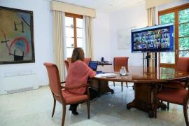 Am Sonntag sprach die balearische Ministerpräsidentin Francina Armengol mit den anderen Regionalchefs und dem spanischen Ministerpräsidenten Pedro Sánchez.