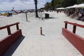 Alcúdia verdoppelt Platz zwischen den Strandliegen
