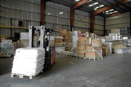 Warenverkehr nach Mallorca deutlich eingebrochen