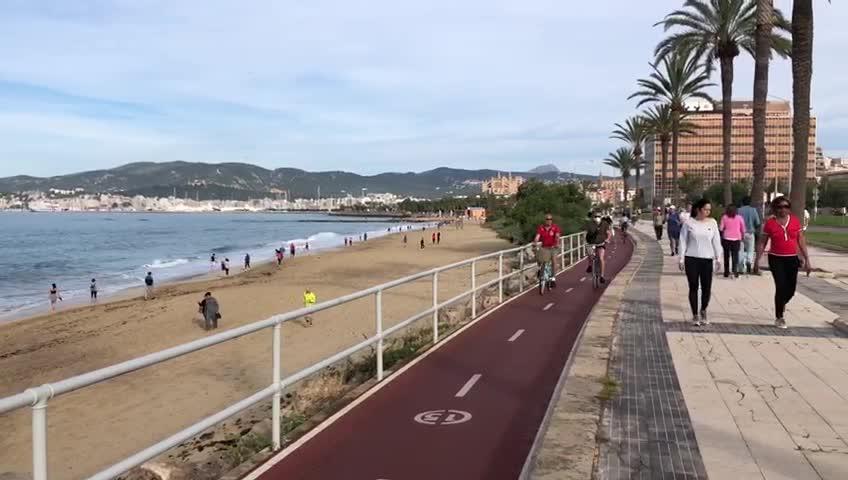 Es herrscht wieder Leben auf den Straßen von Mallorca