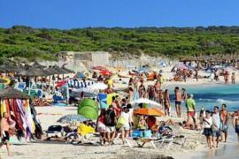 Unklarheit über Baden am Es-Trenc-Strand auf Mallorca