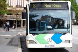 Vieles wieder anders in Bussen in Palma de Mallorca