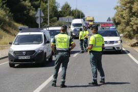 Guardia Civil sperrt Ringautobahn für Kontrolle