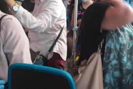 Ärger wegen zu vielen Bus-Passagieren in Palma