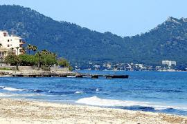 Der Strand von Cala Millor.
