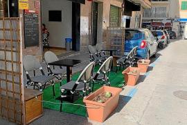 Erste Bußgelder gegen Terrassensünder in Palma verhängt