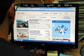 Online-Vermietung von Ferienhäusern.