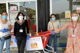 Lebensmittelkarten für arbeitslose Hotelmitarbeiter in Pollença
