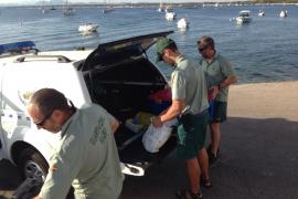 Paket mit 50 Kilo Haschisch am Es-Trenc-Strand gefunden