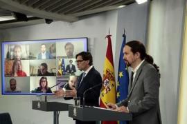 Protestler belagern Haus von Spanien-Vizeregierungschef