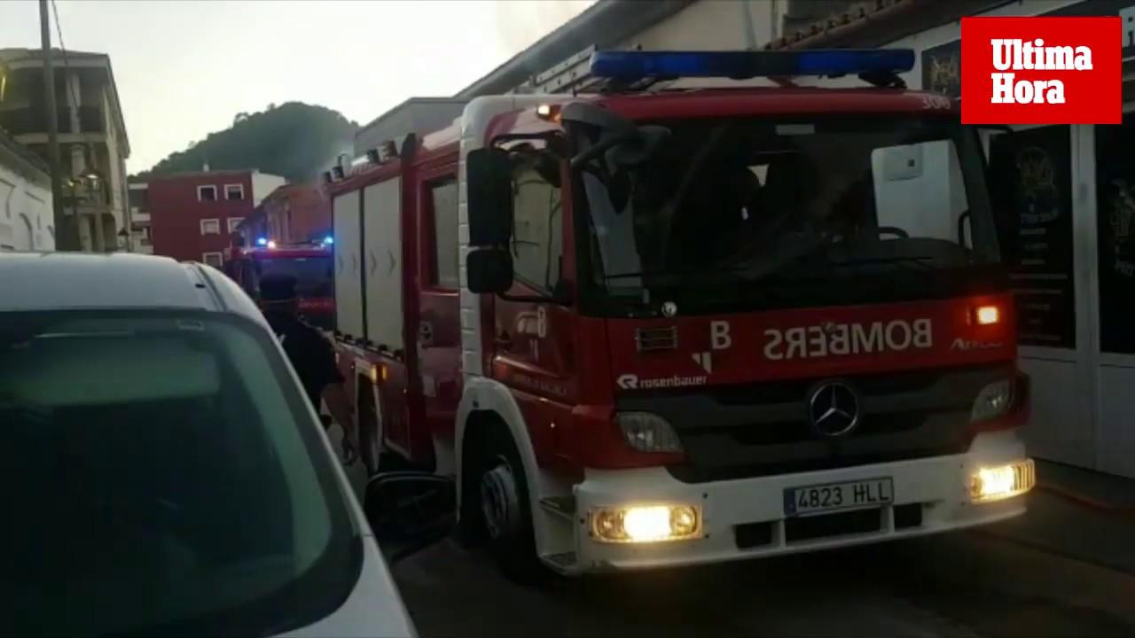 Deutsche Schreinerei in Andratx geht in Flammen auf