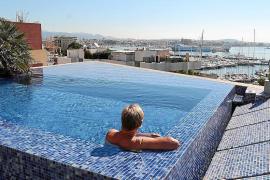 Zahl der Dachpools in Palma dreimal so hoch wie im Jahr 2009