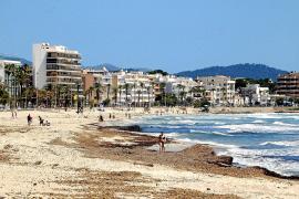 Cala Millor, dieser Tage noch so leer wie sonst nie.