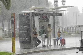 Regenfront nähert sich Mallorca mit großen Schritten