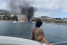 Zwei Kleinboote im Hafen von Portals ausgebrannt