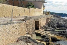 Ganze Teile des Uferwegs in Cala Rajada waren beim Sturm Gloria weggebrochen.