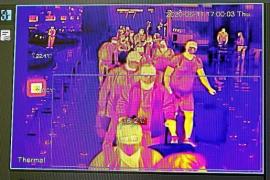 Kameras messen Temperatur bei Passagieren auf Mallorca