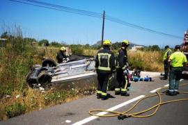 Tödlicher Autounfall auf Ortseinfahrt von Cala Rajada