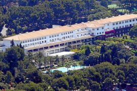 Blick auf das Hotel Barceló Formentor.